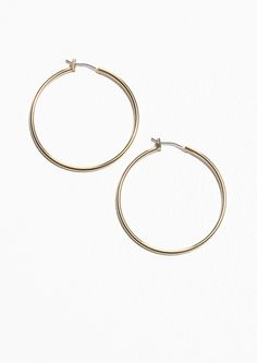 Mateo Bijoux 14Kt Gold Geometric Shapes Earrings pPz6oS