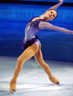 Sasha Cohen- Blue Figure Skating / Ice Skating dress inspiration for Sk8 Gr8 Designs.