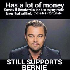 Bernie Sanders isn't the lesser evil. Bernie Sanders is the greater good!