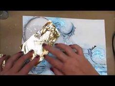 "Art Journal Page - ""Enlighten"" - YouTube"