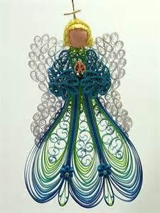 Quilled / Filigree Ornament Heavenly Angel by AGiftwithinaGift