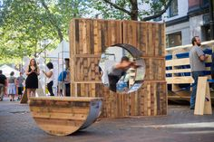 """Get Playful on the Streets of Seattle with """"Pop-Up! Street Furniture"""" from LMN Architects"""