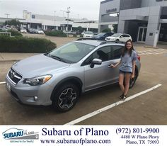 https://flic.kr/p/Ht9oHV | Happy Anniversary to Carmen on your #Subaru #XV Crosstrek from Trent Lofts at Subaru of Plano! | deliverymaxx.com/DealerReviews.aspx?DealerCode=K252