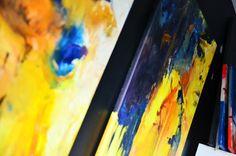 Olej na płótnie 60x110 cm
