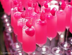 Pink fruity drinks alcohol drinks pink fruit!!! Bebe'!!! Pink Cheers!!!