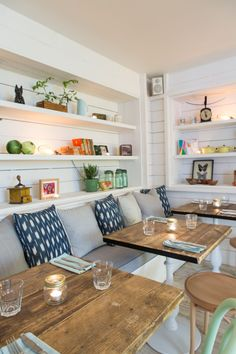 Must visit on upcoming trip: Hally's, for the decor (though the menu looks pretty good, too!)