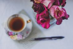 CALM THINGS: a good poem should smell of tea