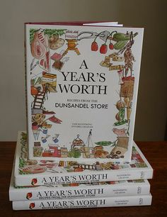 A Year's Worth Recipes from Dunsandel Store