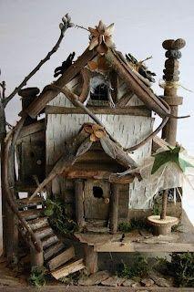 d.i.y. wednesday: fairy architecture « HAUTE NATURE (courtesy of @Jovita Franchi )