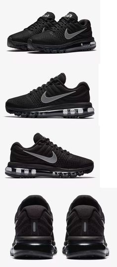 107cf5e689387 Athletic Shoes 95672  Nike Air Max 2017 Women S Running Shoes 849560 001  Black White