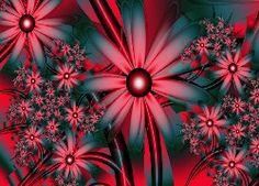 Wirtualne, Kwiatki, Abstrakcja