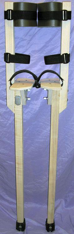Good images for making peg stilts.