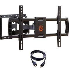 Full Motion Tilt U0026 Swivel LED LCD TV Wall Mount Bracket 14 17 19 22 24 26  28 In | Tv Wall Mount Bracket, Tv Wall Mount And Tv Walls