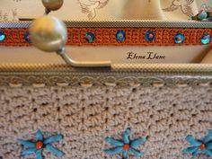 #bolsoboquilla #bolsocrochet #bolsobordado Bolso crochet bordado Eva