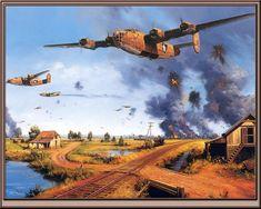 B-24 Liberators
