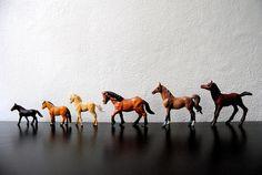 vintage toy horses