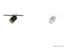 Industrial Style Ceilinglamp in 3 Parts  Found in TSR Category 'Sims 4 Ceiling Lamps'