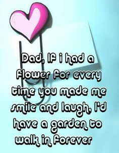 Thinking about the happy days while you were still here! I can't help but smile! Missing you Daddy!
