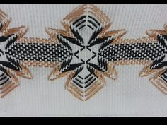 In this video, I have made 4 different types of leaves out of Satin Ribbon. I have used these leaves in almost all the flowers I have made so far. Swedish Embroidery, Hardanger Embroidery, Ribbon Embroidery, Swedish Weaving Patterns, Bargello, Border Design, Knitting Designs, Holidays And Events, Blackwork