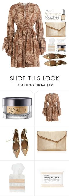 """""""15.08.16"""" by malenafashion27 ❤ liked on Polyvore featuring Urban Decay, Faith Connexion, Aquazzura, Henri Bendel, Pigeon & Poodle and Fig+Yarrow"""