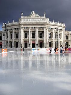 Hofburg Theater. Vienna, AUSTRIA (by gennie catastrophe, via Flickr)