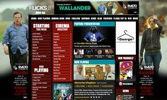 Rialto Channel site skin on www.Flicks.co.nz