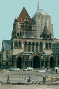 Henry Hobson Richardson- Trinity Church, Boston. Early Richardson Romanesque.