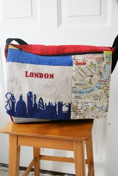 London computer bag. 500 kr.