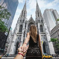 #followmeto St. Patrick's cathedral in NYC with @natalyosmann and @INCinternationalconcepts. Love how it looks after the restoration. #followinc
