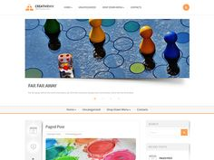 CreativeMix is a modern and clean Free WordPress Creative Theme for you and your creativity. We used white and juicy orange combination to make its design unforgettably vibrant. However, alongwith this brightness the makeover doesn't lose its clean and extraordinary style which gives you full rights to use the CreativeMix WordPress theme for any purpose.