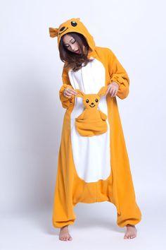 Unisex Adult Cosplay Yellow Animal Oneises All In One Kangaroo Pajamas Pyjama Sets Winter Cute Cartoon Pyjama Pajama Sets Pijamas Onesie, Onesie Pajamas, Cute Costumes, Adult Costumes, Satin Pyjama Set, Pajama Set, Pajamas For Teens, Adult Pajamas, Baby Bjorn