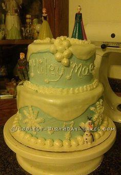 Coolest Frozen Birthday Cake... Coolest Birthday Cake Ideas