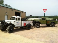 Dual-ling Dodge Power Wagons