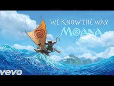 """Moana - We Know The Way LYRICS from Disney's """"Moana"""" - YouTube"""