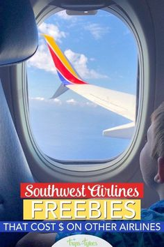 Taking a flight on Southwest Airlines? Here are 7 totally free things on Southwest that can help save money compared to flying with other airlines. Air Travel Tips, Packing List For Travel, Travel News, Road Trip On A Budget, Budget Travel, Airline Reviews, Airline Travel, Airline Tickets, Flying With Kids