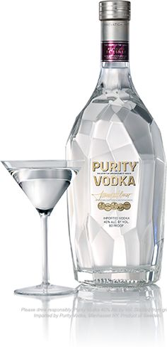 Purity Vodka - Linked to makers site - mild citrus, light sweetness w/ refreshing effervescence (w/o the bubbles)