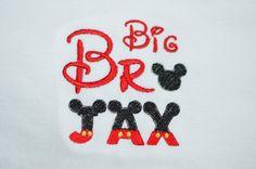 Disney Big Brother Shirt Pregnancy Reveal Shirt Big Bro Outfit Mickey Big Brother Shirt Big Sibling Shirt Baby Boy Mickey Big Brother Shirt