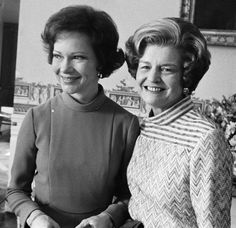 First Ladies Rosalyn Carter and Betty Ford
