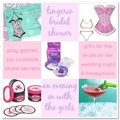 bridal shower ideas | Sometimes, an evening in with the girls, relaxing, sipping cocktails ...