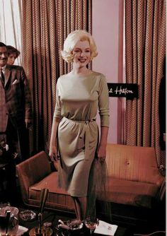 Marilyn at a press conference at the Continental Hilton Hotel in Mexico City, February 22nd 1962
