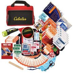 Technical Survival Kit so you'll never be stranded without supplies - Take this on your next road trip or adventure!  Minimum order 50, $36.25 - $32.95 ea.
