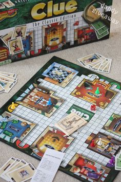 CLUE!  Win your own Clue board game at Dandy Giveaway this week.  Low entries!