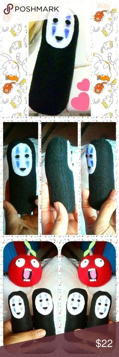 Studio Ghibli Anime Manga Kawaii Disney Plush Toy NoFace has been sold already, although I can always make another one down the line! Kakigori Kakigori Accessories