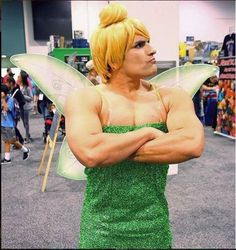 Tinkerbell Cosplay by BvamFG_Fqpq photo by Thesteelshark #tinkerbellcosplay #cosplayclass #costume