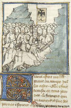 Histoire universelle depuis la Création jusqu'a César, MS M.516 fol. 252v - Images from Medieval and Renaissance Manuscripts - The Morgan Library & Museum