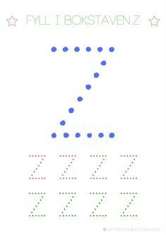 Lär dig skriva hela alfabetet med dessa färgglada bokstäver i färgerna röd, grön och blå – Lektionstips Tracing Letters, Line Chart, Lettering, Teaching, Album, Education, Inspiration, Nature, Biblical Inspiration