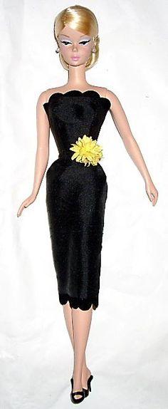 enhanced little black dress