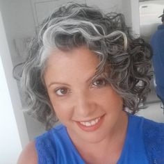 Salt and pepper gray hair. Grey hair. Silver hair. White hair. Granny hair don't care. No dye. Dye free. Natural highlights. Aging and going gray gracefully. Short hair.