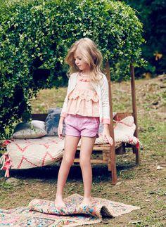 Nellystella Clio Shorts in Orchid Bouquet - PRE-ORDER