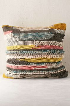 Hooked Stripe Pillow
